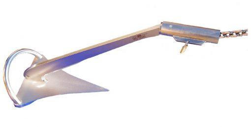 Diebstahlsicherung für Anker und Ankerverbinder