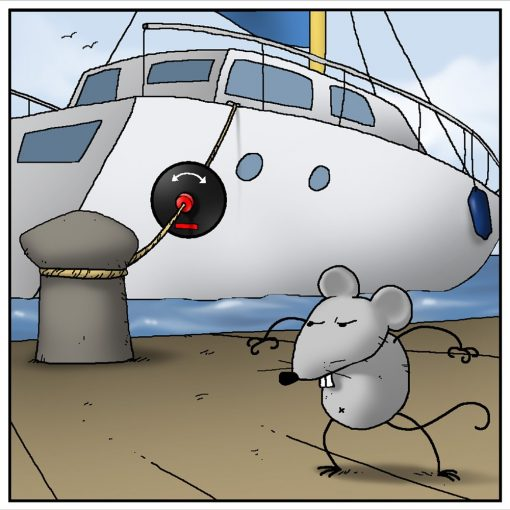 Rat Guards for ropes
