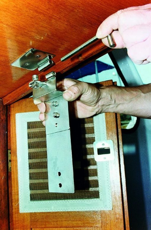 Sailboat Burglar Lock