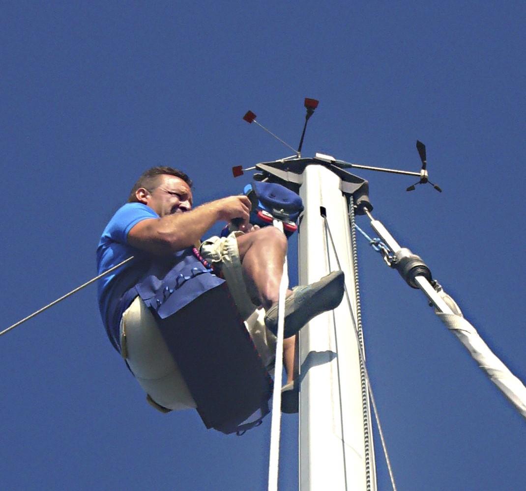 Elevador mástil 13 metros