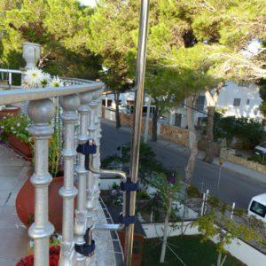 Espantapájaros para jardines y balcones