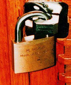 Cerradura de seguridad para protección contra intrusos