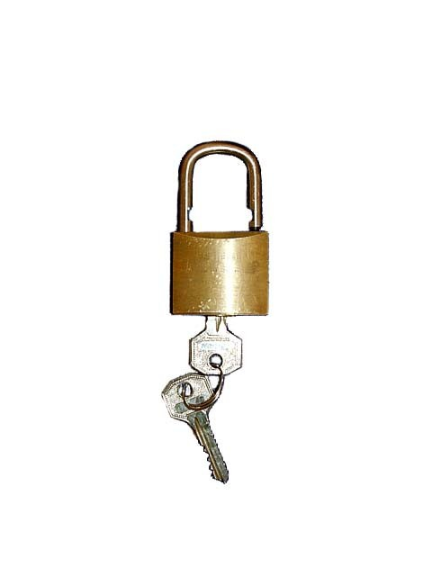 Security lock for burglar protection