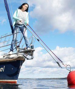 Mooring Buoy and Retrieving Hook