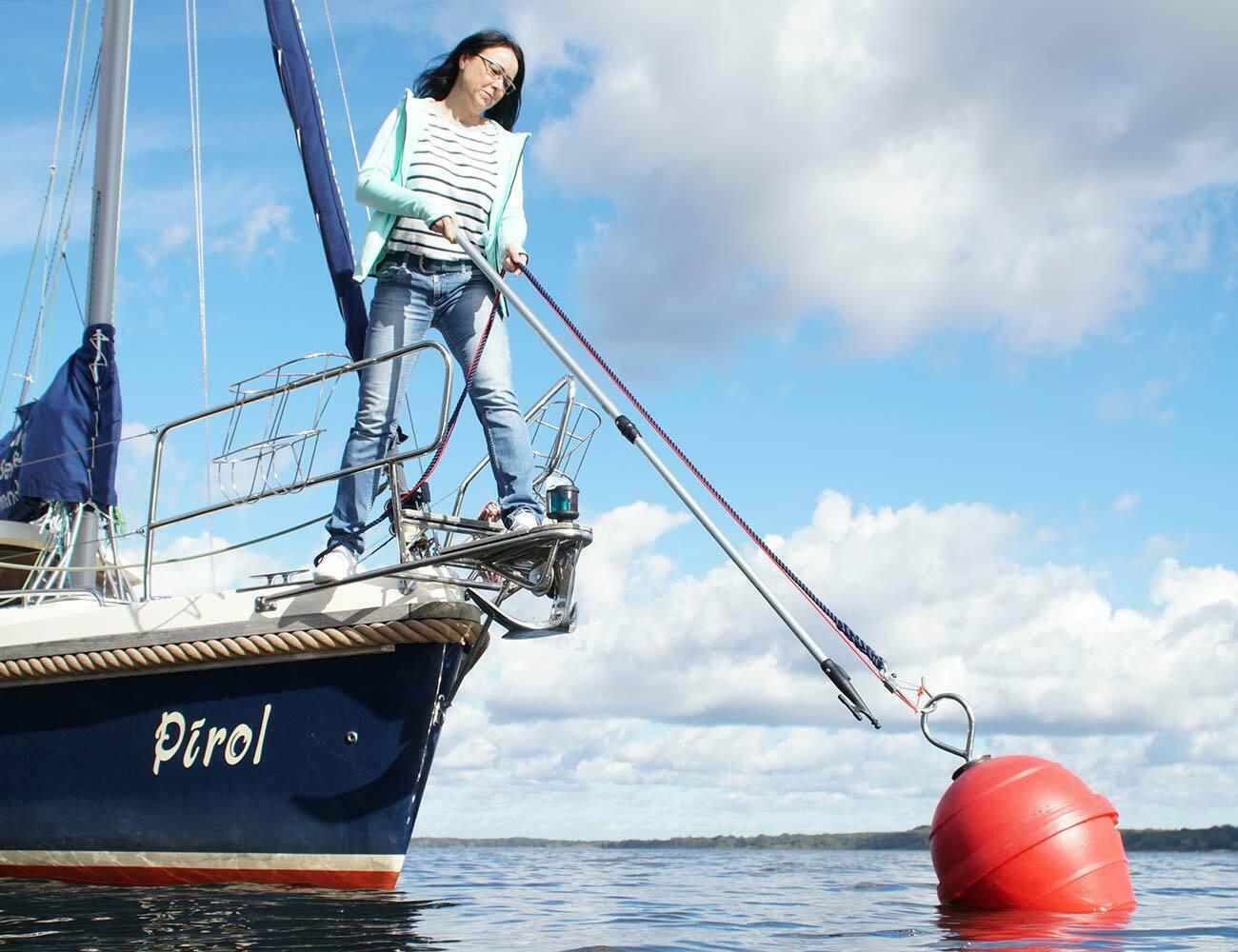 Mooring Buoy  U0026 Retrieving Hook