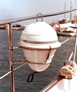 Self-adjusting anchor buoy